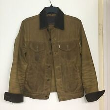 Levis Filson Trucker Jacket Khaki Small