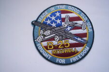 Aufnäher/Patch  B-25  Mitchell Fought for Freedom ca 10 cm