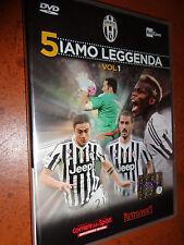 DVD N°1 5IAMO LEGGENDA FC JUVENTUS CAMPIONE D'ITALIA 2015/2016 OFFICIAL SIAMO