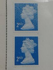 2 x Queen Elizabeth 11 Stamps - 2nd Class Mint Never Been Used