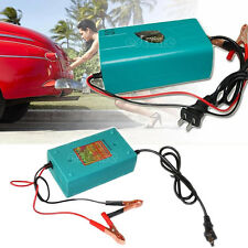 Motorcycle Car Boat Marine RV Maintainer Trickle 12V Battery Automatic Charger