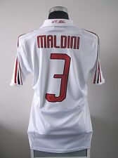 Paolo MALDINI #3 AC Milan Away Football Shirt Jersey 2007/08 (M)