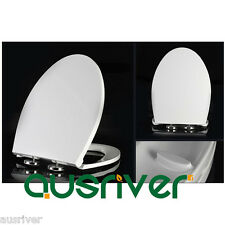 Brand New Bathroom Accessories Toilet Seat Cover Lid Soft Close Quick Release