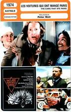 FICHE CINEMA : LES VOITURES QUI ONT MANGE PARIS - Camilleri,Meillon,Weir 1974