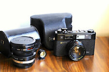 YASHICA Electro 35  GTN    - Battery included,   35mm film Rangefinder Camera