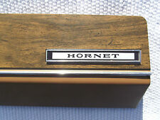 1976 AMC Hornet D/L Glove Box Door Wood Grain Finish OEM American Motors Emblem
