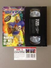 Rare! The Making Of NFL Blitz Video Game VHS Tape! Nintendo 64 N64 Ps1!