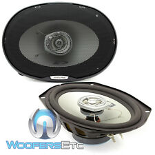 "ALPINE SXE-6925S 6""X9"" 280W 2-WAY MYLER TWEETERS COAXIAL SPEAKERS & GRILLS NEW"