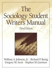 The Sociology Student Writer's Manual (3rd Edition)