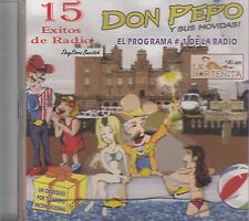 DON PEPO Y SUS MOVIDAS 15 EXITOS DE RADIO CD Nuevo Sealed