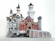 Building CASTLE NEUSCHWANSTEIN Germany 3D Puzzle Model Kit Scale 1:250