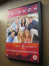 Friends 6 Dvd's Series 8, Episodes 1-4, 5-8, 9-12, 13-16, 17-20, 21-23