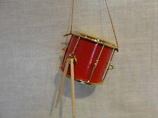 Marching band Snare Drum Ornament Drumline Drummer Gifts