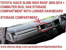 DASH MAT,BLACK DASH MAT FIT TOYOTA HIACE 2005-2015 SLWB , COMMUTER BUS, BLACK