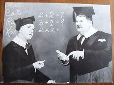 LAUREL ET HARDY PHOTO EXPLOITATION LOBBY CARD A CHUMP AT OXFORD
