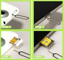 20Pcs Sim Card Tray Remover Eject Ejector Pin Key Tool For SAMSUNG S7 Edge LG G5