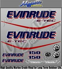EVINRUDE ETEC - 150hp - OUTBOARD DECALS