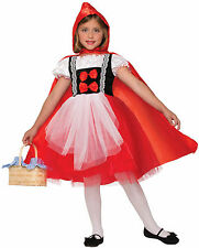 Girls Red Riding Hood Costume Story Book Fairy Tale Costume Size Large 12-14