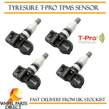 TPMS Sensors (4) TyreSure T-Pro Tyre Pressure Valve for BMW 1 Series [F20] 11-16