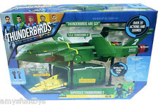 New Thunderbirds Are Go 13192 Supersize Thunderbird 2 & 4 + 1 Free Action Figure
