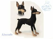 Doberman Plush soft toy Dog by Hansa. 2708