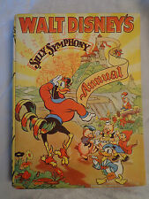 Walt Disney's Silly Symphony Annual 1st 1937 - Excellent Condition - Very Scarce