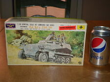 WW#2, GERMAN, Sd. Kfz. 250/10 ARMOURED CAR, Model MOVES BY CLOCK WORK,Scale 1/40
