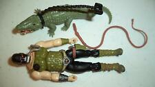 GI JOE   25th    COBRA    CROC MASTER    100%  comp    GIJOE