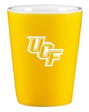University of Central Florida - 1.75oz Ceramic Shot Glass  - Gold