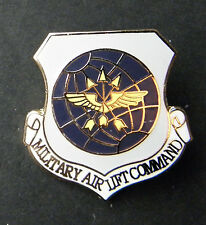 Military Airlift Air Lift Command Air Force Hat Jacket Lapel Pin USAF 1 inch