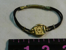 Vintage Women's Benrus Wrist Watch DOESN'T WORK,NO CRYSTAL PARTS ONLY