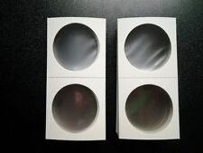 New 2x2 Large Dollar Morgan Peace Size Cardboard Coin Holders Flips Qty of 100