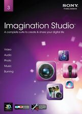 SONY IMAGINATION STUDIO 3 Full Version PC XP/VISTA/7 SEALED NEW