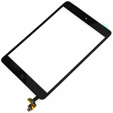 Black Touch Glass Digitizer Screen + Home Button + IC Connector For iPad Mini