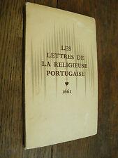 les lettres de la religieuse portugaise de Marianna Alcoforado à Monsieur de Cha