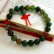 8mm India Jade Beads Tibetan Buddhism Bracelet