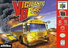 Lot fo 2 games: Vigilante 8 and Wave  Race! Nintendo 64 N64. Same Day Shipping!