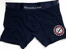 Abercrombie & Fitch NAVY BLACK A&F Mens Boxer Briefs Underwear LARGE L