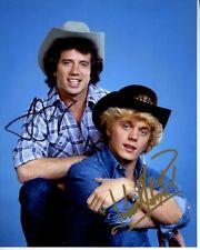 TOM WOPAT & JOHN SCHNEIDER Signed THE DUKES OF HAZZARD BO & LUKE DUKE Photo