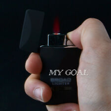 Jet Flame Windproof Refillable Butane Gas Torch Smoking Cigarette Cigar Lighter