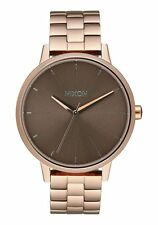 **BRAND NEW** NIXON WATCH THE KENSINGTON ROSE GOLD / TAUPE A0992214 NEW IN BOX!