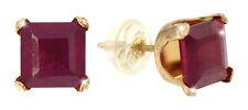 Faszinierende Ohrstecker Gold Rubine