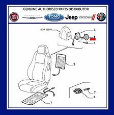 Genuine New  Alfa Romeo 147 3 door & GT NS Left  seat handle & Cable 185023960
