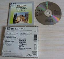 RARE CD CLASSIQUE LUIGI BOCCHERINI KEYBORD QUINTETS LES ADIEUX 1988