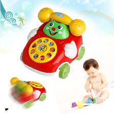 Cute Baby Toys Music Cartoon Phone Educational Developmental Kids Toy Gift New