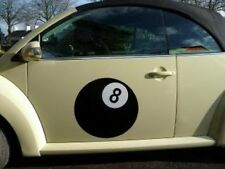 Huge 8 Ball sticker for VW Bug/Camper Van/Beetle 500mm