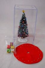 Christmas Tree #920 Beaded decorated 1/12 scale dollhouse miniature made in USA