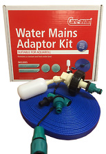 10m flat Caravan Motorhome Mains Water adapter kit for Aquaroll Food hose