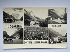Logarska Dolina Gostisce Logar Gostilna Slovenia Slovenija AK cartolina