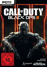 Call of Duty: Black Ops III (PC, 2015, DVD-box) ---